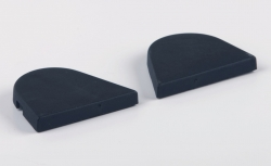 Sidecaps for 10mm Hinge R&L, set